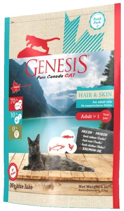 Genesis Cat Adult Hair & Skin - My Blue Lake